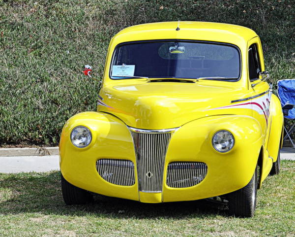 Photograph - 1941 Ford Coupe by AJ  Schibig