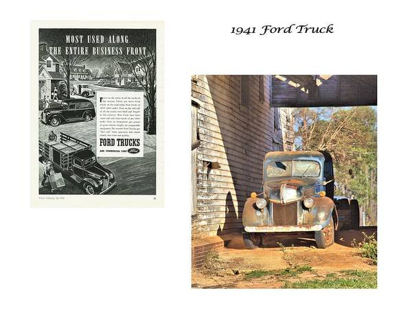 Photograph - 1941 Ford Farm Truck by Gordon Elwell