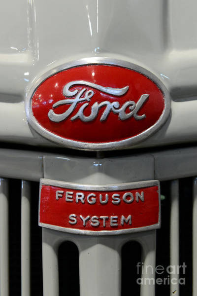 Wall Art - Photograph - 1941 Ford Tractor Ferguson System by Paul Ward
