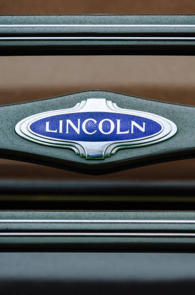 Photograph - 1941 Lincoln Emblem by Jill Reger