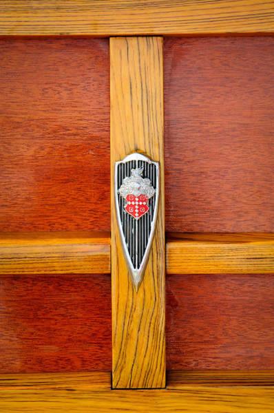 Photograph - 1941 Packard Woody Wagon Emblem by Jill Reger
