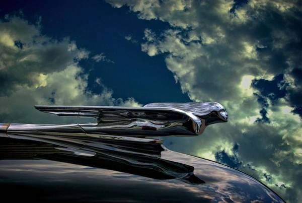 Photograph - 1942 Cadillac Hood Ornament by Tim McCullough
