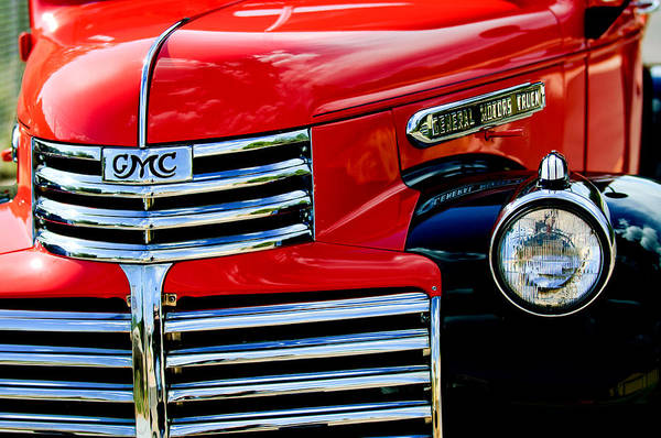 Photograph - 1942 Gmc  Pickup Truck by Jill Reger