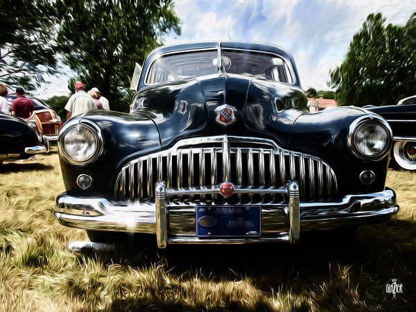 Wagon Digital Art - 1946 Buick Estate Wagon by Garth Glazier