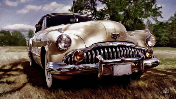 Wall Art - Digital Art - 1946 Buick Super Eight by Garth Glazier