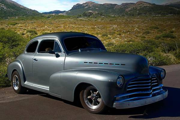 Photograph - 1946 Chevrolet Custom Hot Rod by Tim McCullough