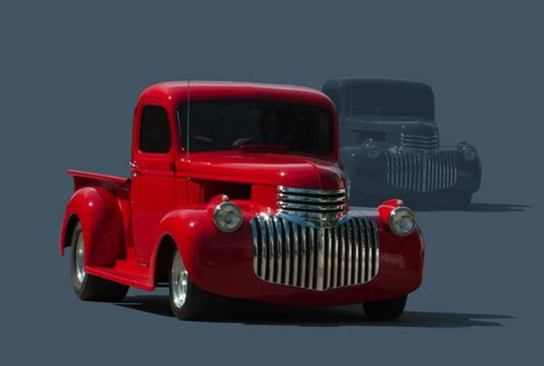 Photograph - 1946 Chevrolet Pickup Hot Rod by Tim McCullough