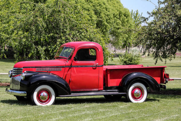 Photograph - 1946 Chevy Pickup by E Faithe Lester