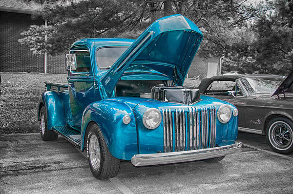 Photograph - 1946 Ford Pickup by Guy Whiteley