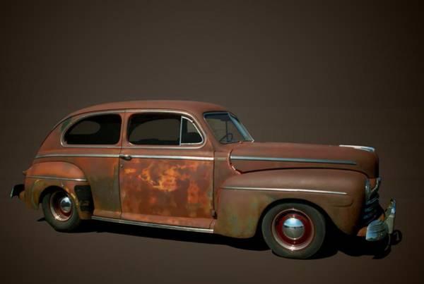Photograph - 1946 Ford Sedan by Tim McCullough
