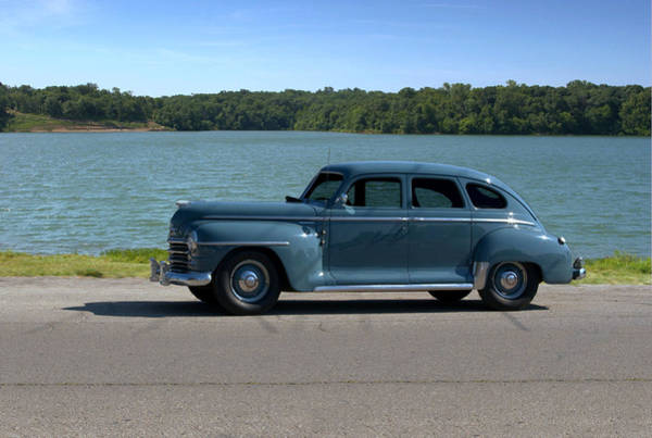 Photograph - 1946 Plymouth Special Deluxe by Tim McCullough