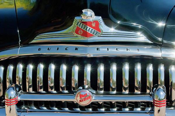 Photograph - 1947 Buick Sedanette Grille by Jill Reger