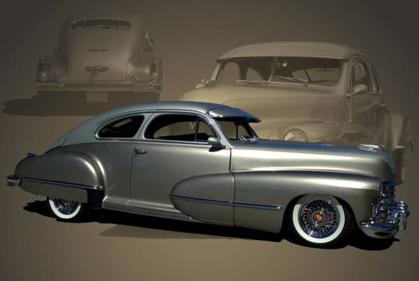 Photograph - 1947 Cadillac Custom Street Rod by Tim McCullough