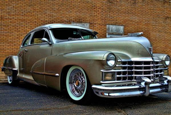 Photograph - 1947 Cadillac Street Rod by Tim McCullough