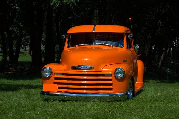 Photograph - 1947 Chevrolet Pickup Truck by Tim McCullough