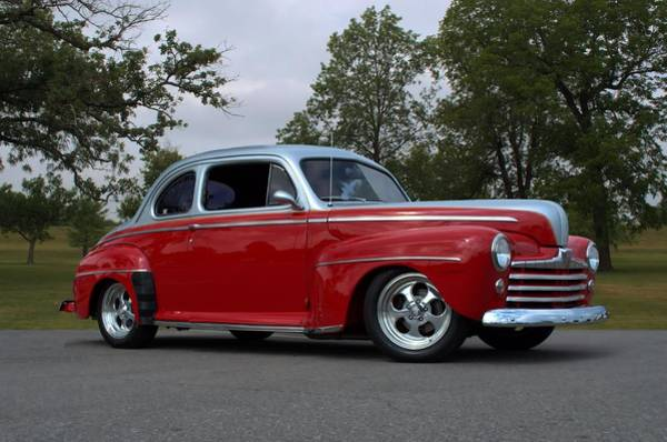 Photograph - 1947 Ford Coupe Hot Rod by Tim McCullough