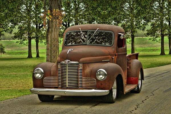 Photograph - 1947  International Pickup Truck by Tim McCullough