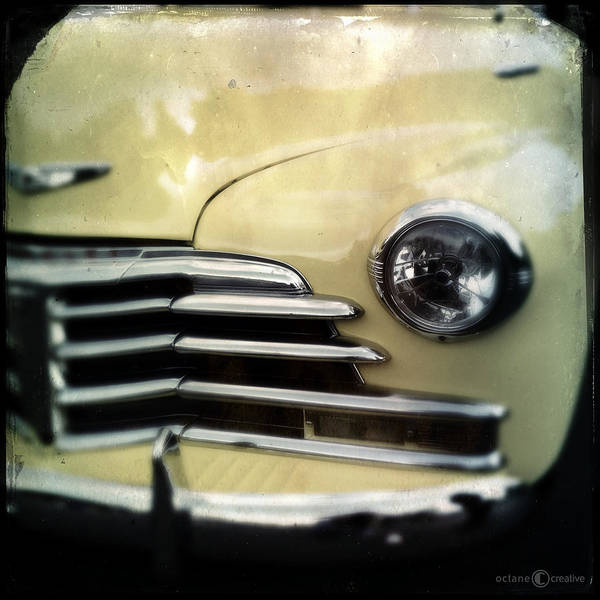 Photograph - 1947 Yellow Chevrolet by Tim Nyberg