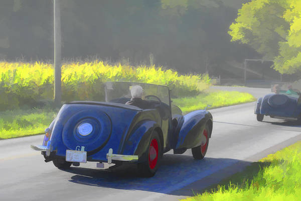 Photograph - 1948 Allard L Four Place Touring by Jack R Perry