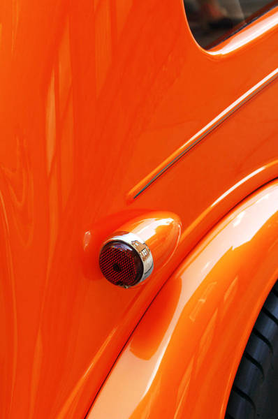 Photograph - 1948 Anglia Taillight -447c by Jill Reger