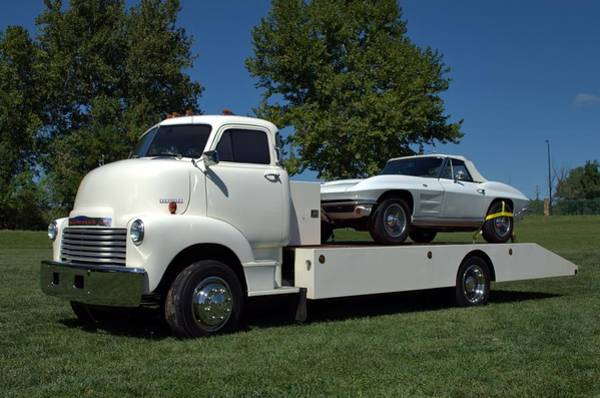 Photograph - 1948 Chevrolet Ceo Tilt Bed Truck by Tim McCullough