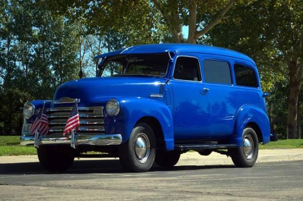 Photograph - 1948 Chevrolet Suburban by Tim McCullough