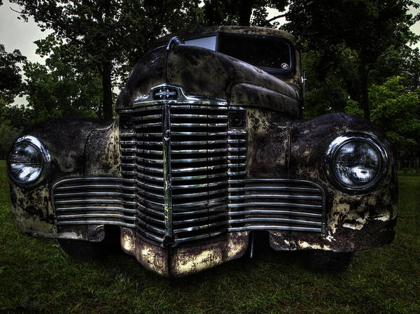 Wall Art - Photograph - 1948 International Truck by Thomas Young