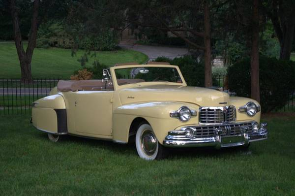 Photograph - 1948 Lincoln Continental Convertible by Tim McCullough