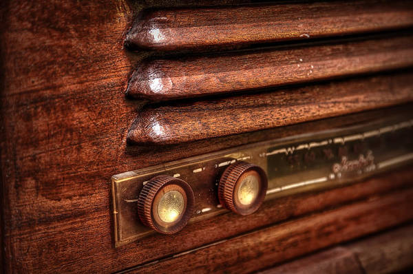 Americana Photograph - 1948 Mantola Radio by Scott Norris