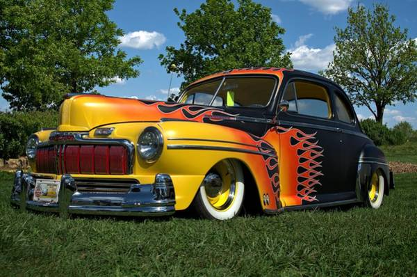 Photograph - 1948 Mercury Coupe Low Rider by Tim McCullough