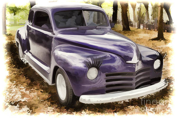 Painting - 1948 Plymouth Classic Car Painting Photograph 3390.02 by M K Miller