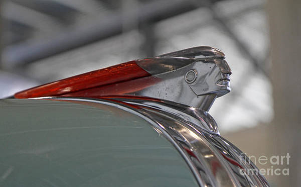 Photograph - 1948 Pontiac Hood Ornament by Kevin McCarthy