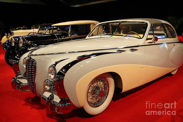 Photograph - 1949 Delahaye Type 175 Coupe De Ville 5d26697 by Wingsdomain Art and Photography