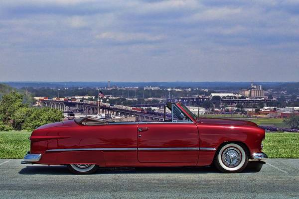 Photograph - 1949 Ford Convertible by Tim McCullough