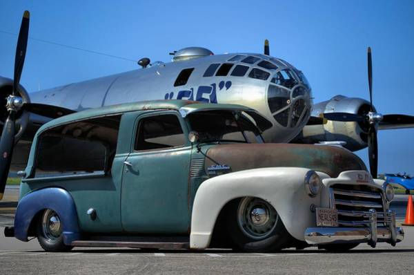 Photograph - 1949 Gmc Canopy Express by Tim McCullough