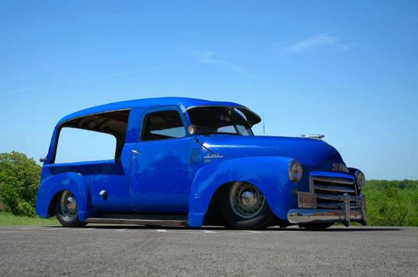 Photograph - 1949 Gmc Canopy Express Truck by Tim McCullough