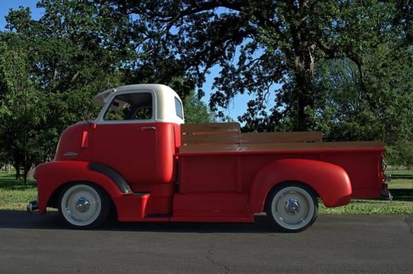 Photograph - 1949 Gmc Coe Custom Pickup Truck by Tim McCullough