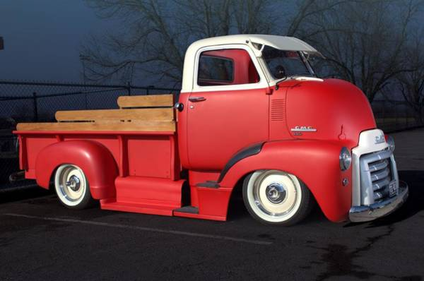 Photograph - 1949 Gmc Coe Pickup Truck by Tim McCullough
