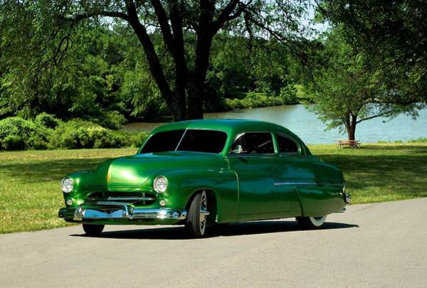 Photograph - 1949 Mercury Lead Sled by Tim McCullough