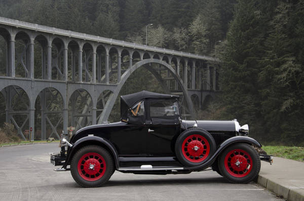 Ivanhoe Photograph - 1929 Ford  by Todd Sarah Ivanhoe