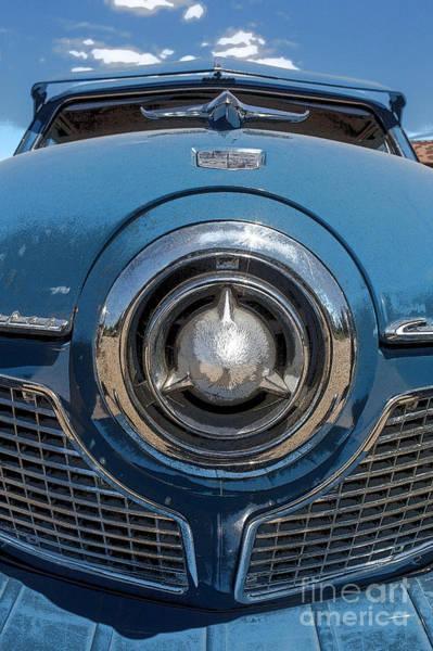 Studebaker Photograph - 1950s Studebaker Champion Car by Edward Fielding