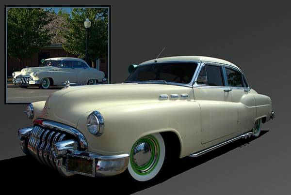 Photograph - 1950 Buick Low Rider Street Rod by Tim McCullough