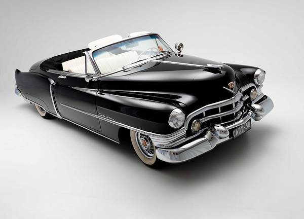 Classic Hot Rod Wall Art - Photograph - 1950 Cadillac Convertible by Gianfranco Weiss