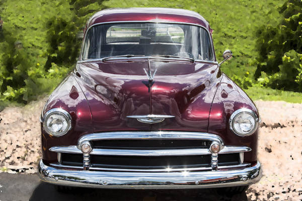 Dual Exhaust Photograph - 1950 Chevrolet Beauty by Rich Franco