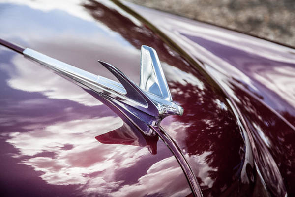 Dual Exhaust Photograph - 1950 Chevrolet Hood Ornament by Rich Franco