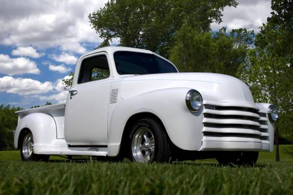 Photograph - 1950 Chevrolet  Pickup by Tim McCullough