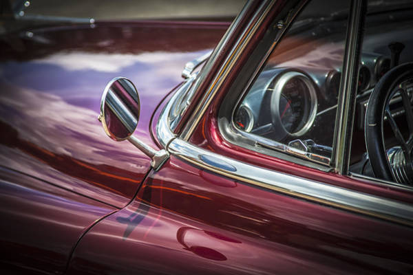 Dual Exhaust Photograph - 1950 Chevrolet Side View Mirror by Rich Franco