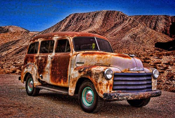 Photograph - 1950 Chevrolet Suburban Carry All by Tim McCullough