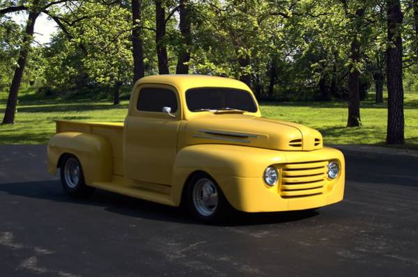 Photograph - 1950 Ford F1 Pickup Truck by Tim McCullough