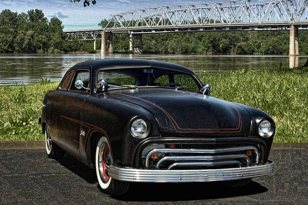 Photograph - 1950 Ford Street Rod by Tim McCullough